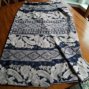 Classic mid calf skirt.  Size 13